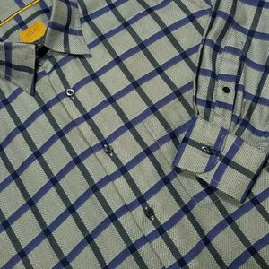 XL ROBERT TALBOTT Casual Long sleeve Dress Shirt